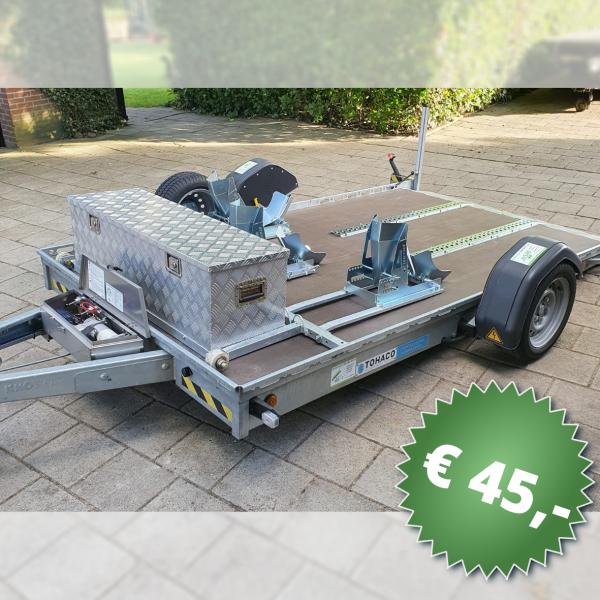 Motortrailer M3 – 1800kg (lucht geveerd)